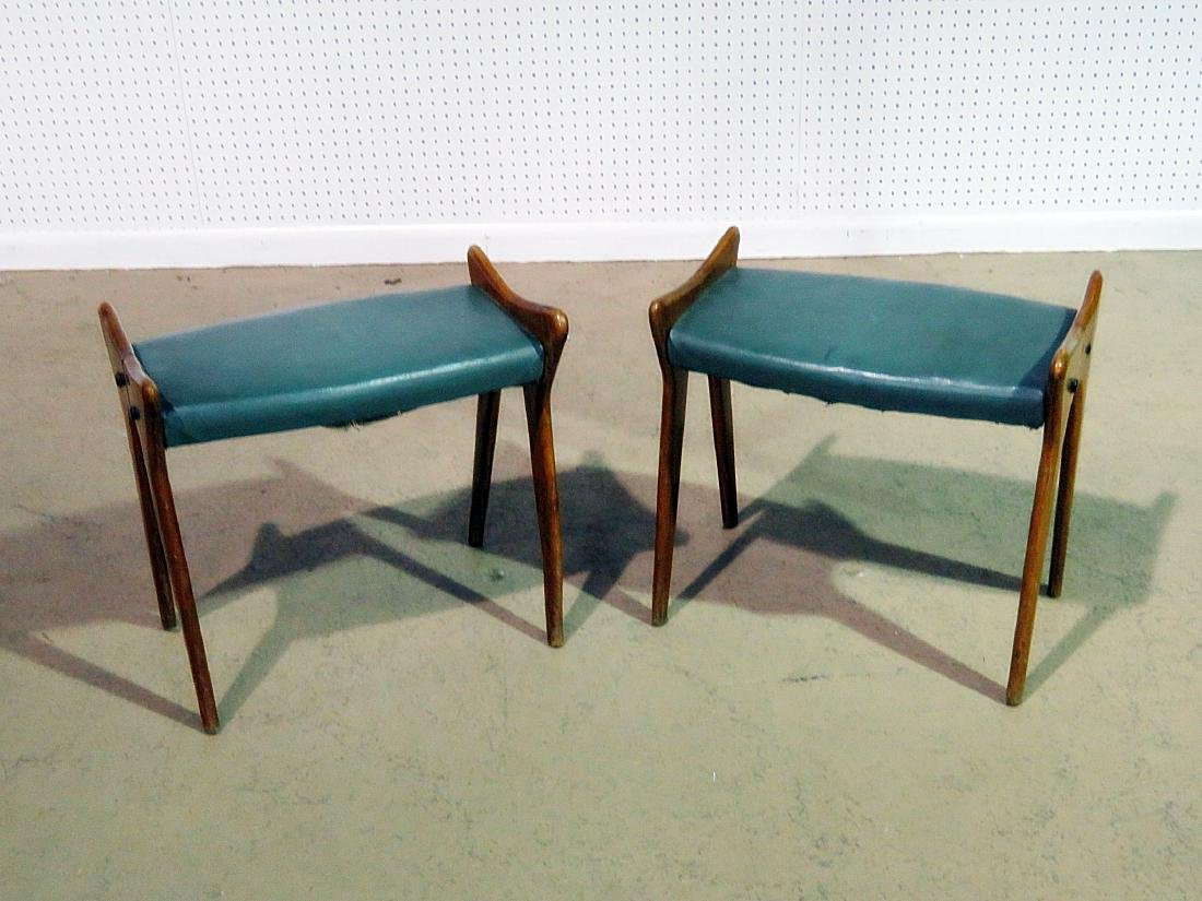 Pair PARISI STYLE BENCHES - 2