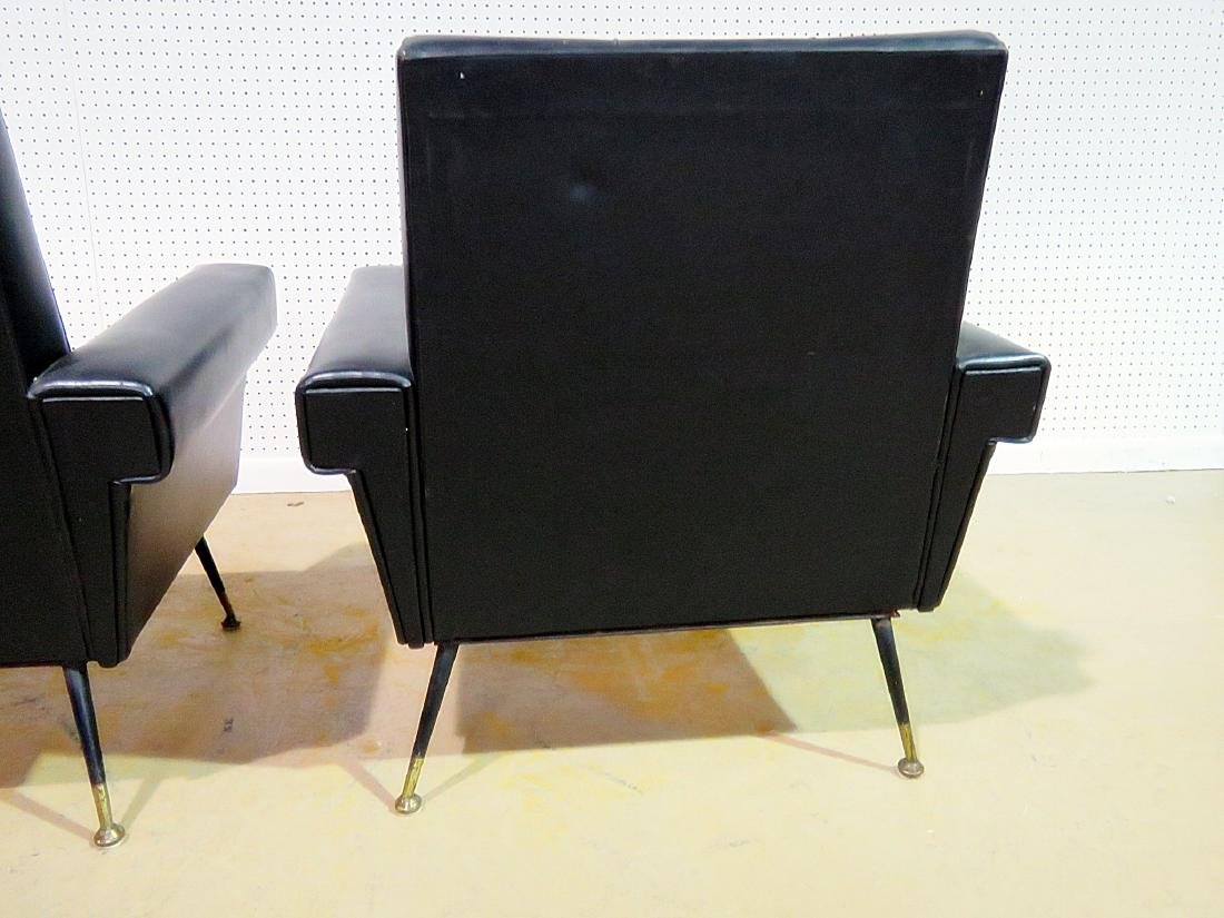 Pair VINTAGE ITALIAN ARM CHAIRS - 5