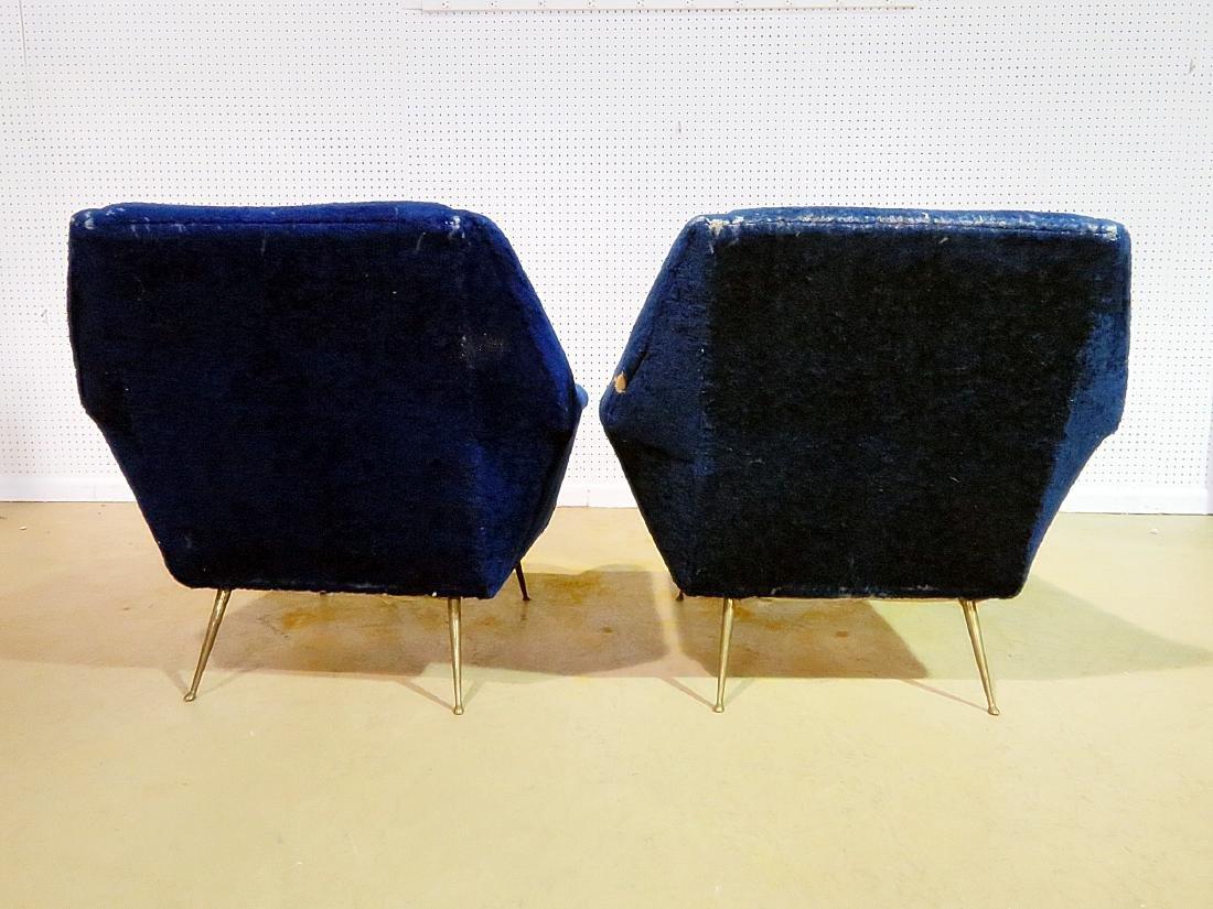 Pair ZANUSO STYLE CHAIRS - 4