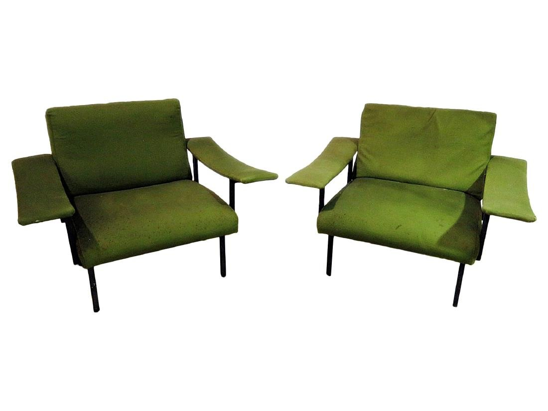 Pair VINTAGE ITALIAN ARM CHAIRS