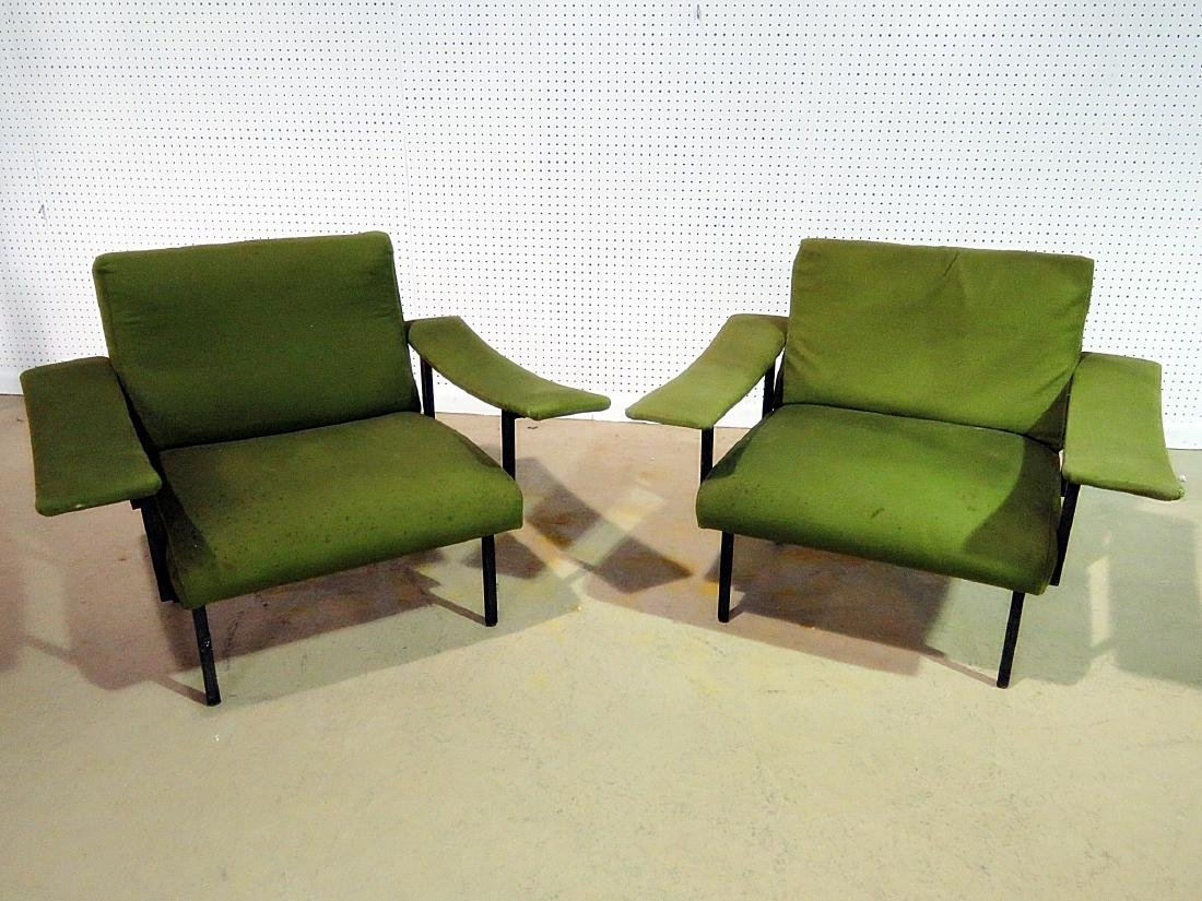 Pair VINTAGE ITALIAN ARM CHAIRS - 2
