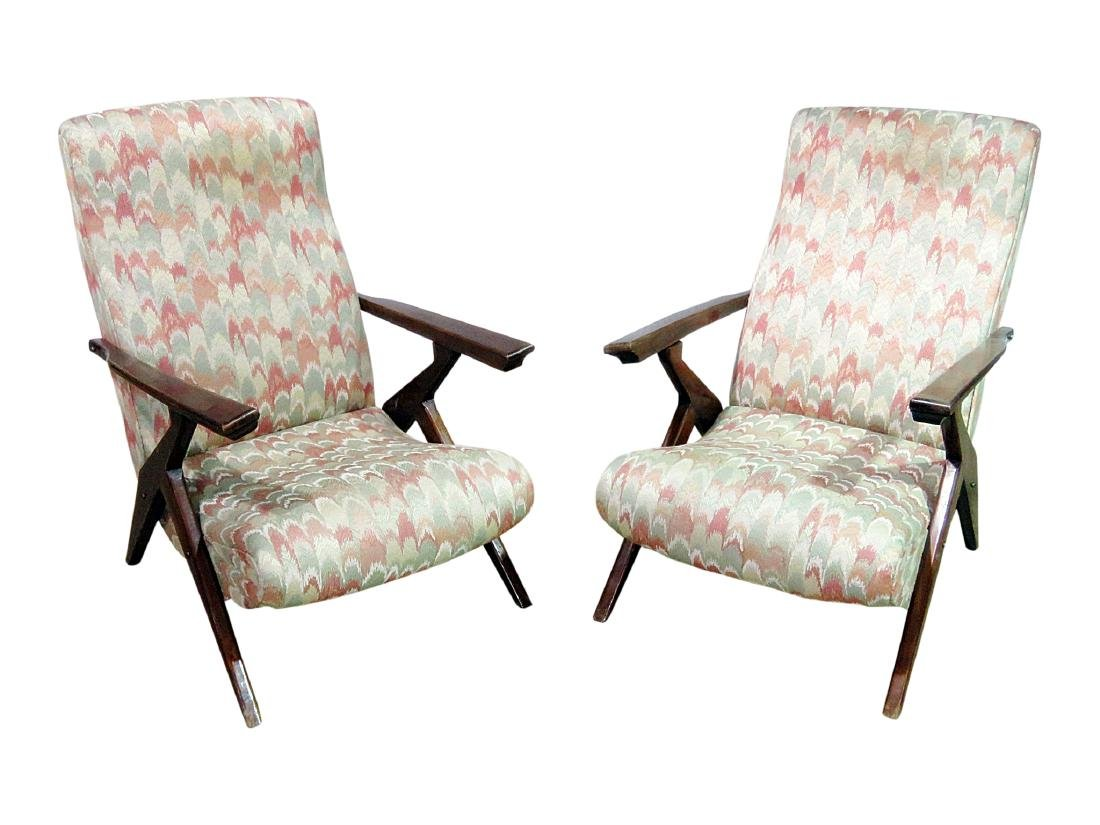 Pair Z STYLE LOUNGE CHAIRS