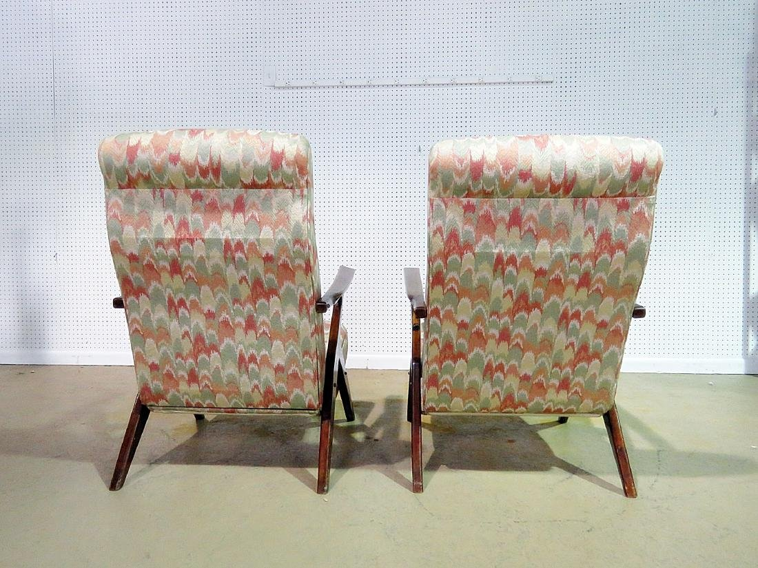 Pair Z STYLE LOUNGE CHAIRS - 5