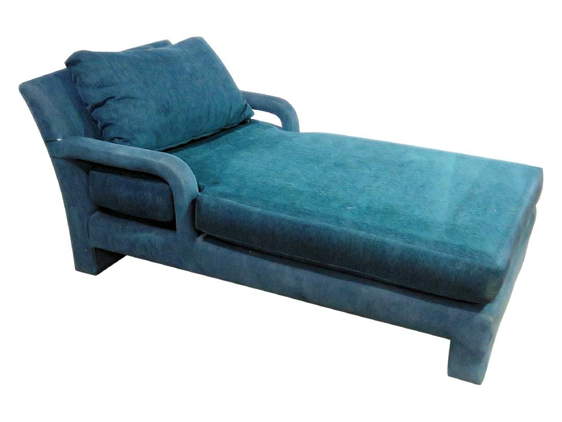 PARSONS STYLE CHAISE LOUNGE CHAIR