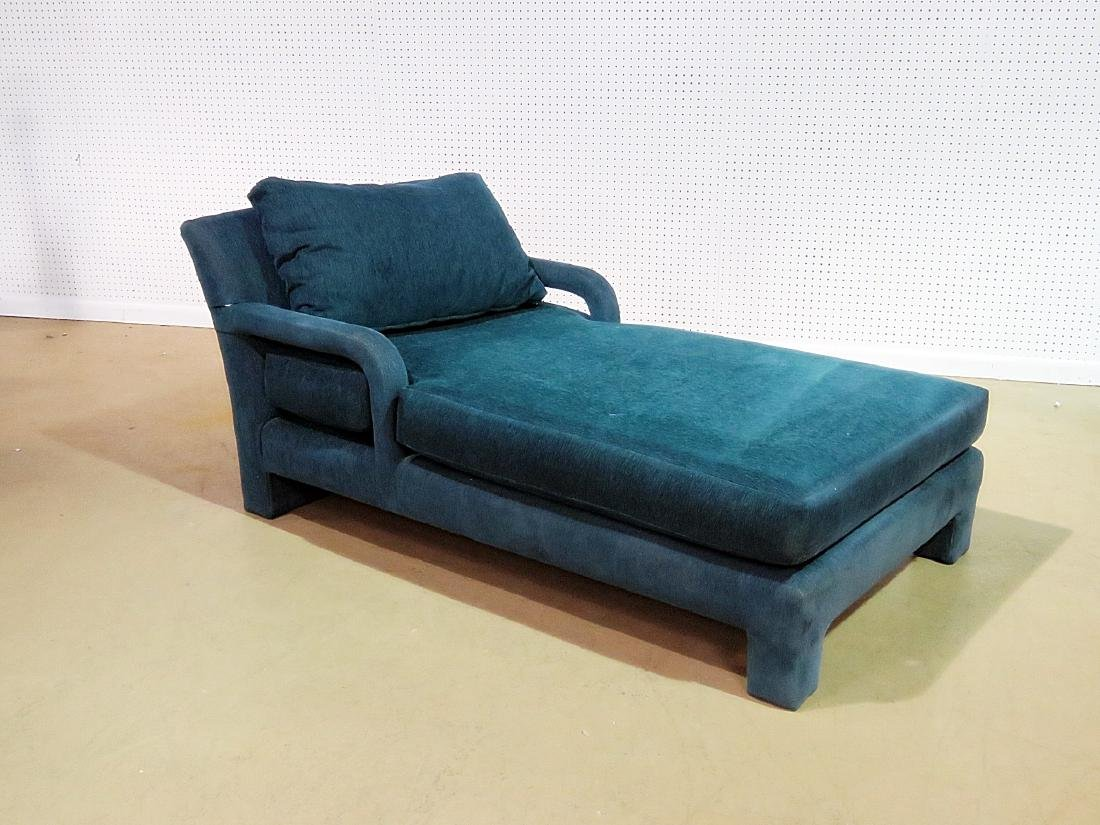 PARSONS STYLE CHAISE LOUNGE CHAIR - 2