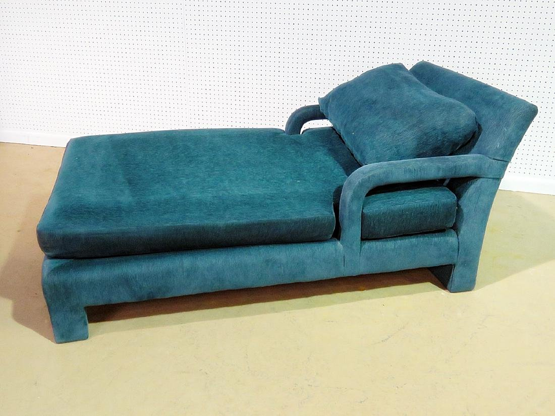 PARSONS STYLE CHAISE LOUNGE CHAIR - 7