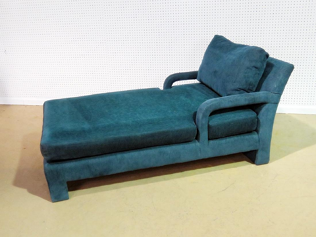 PARSONS STYLE CHAISE LOUNGE CHAIR - 8