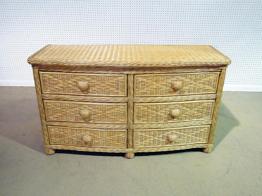 WICKER CHEST OF DRAWERS - 2