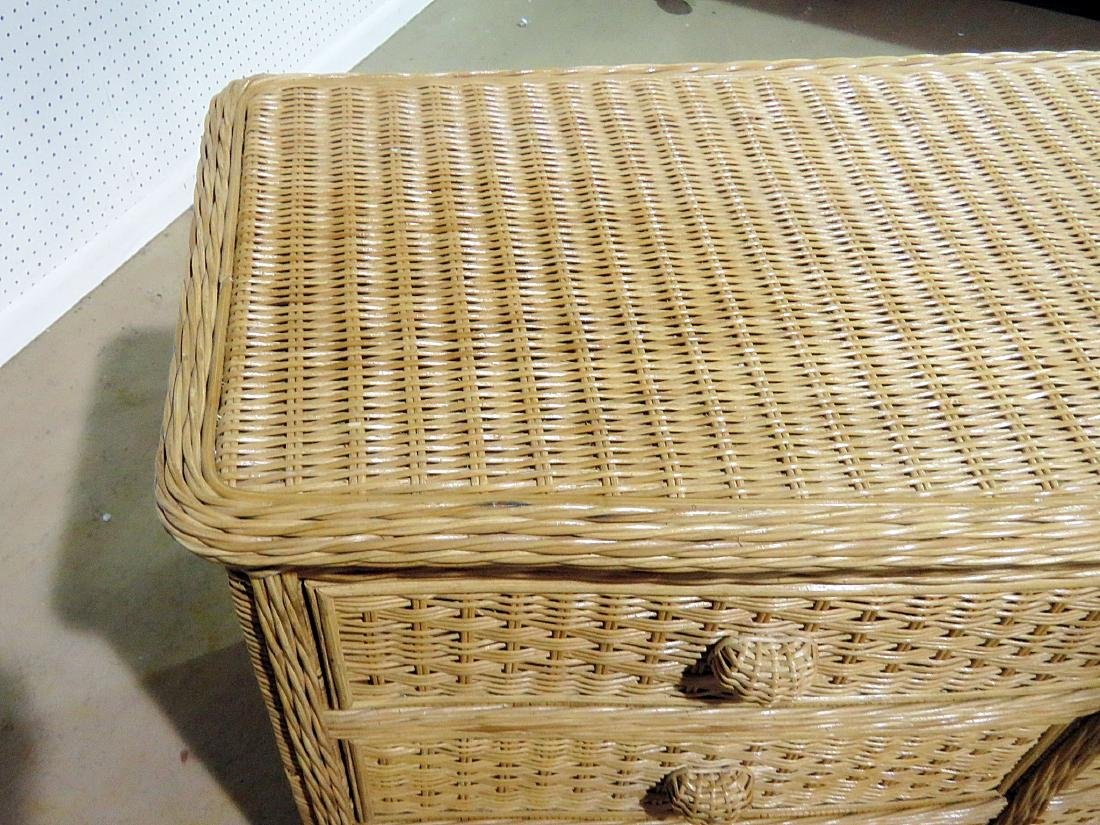 WICKER CHEST OF DRAWERS - 7