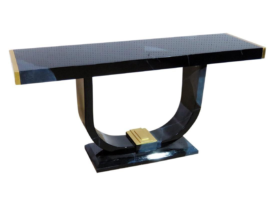 MODERN DECO CONSOLE TABLE