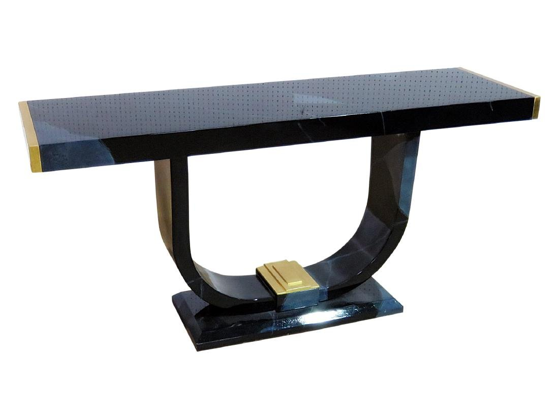 MODERN DECO CONSOLE TABLE