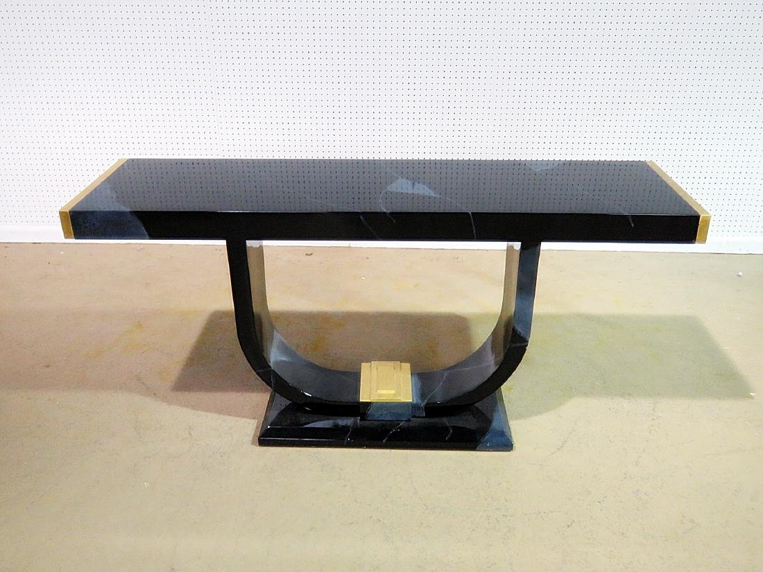 MODERN DECO CONSOLE TABLE - 3