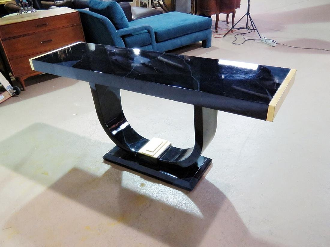 MODERN DECO CONSOLE TABLE - 7