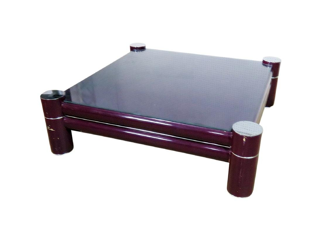 MCM OVERSIZED COFFEE TABLE attributed PACE