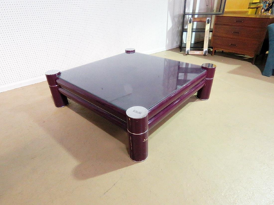 MCM OVERSIZED COFFEE TABLE attributed PACE - 9