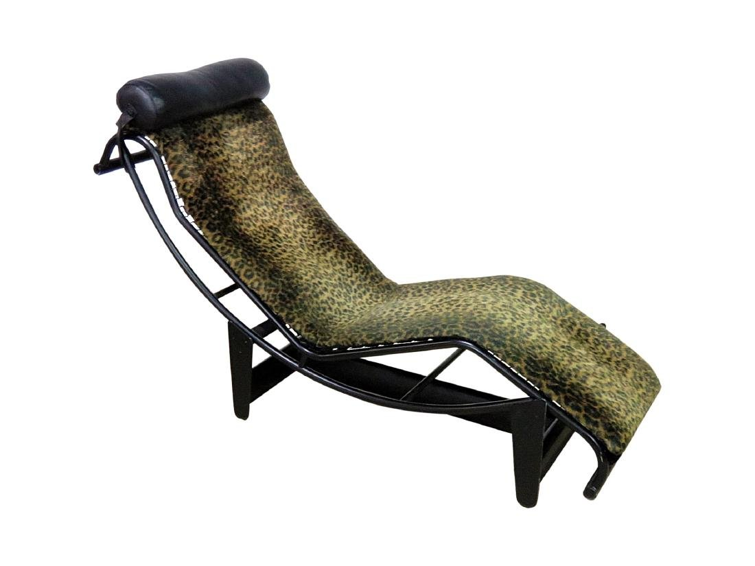 LE CORBUSIER STYLE CHAISE LOUNGE CHAIR