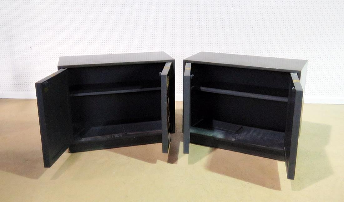Pair RARE ART DECO CABINETS BY LANE - 3