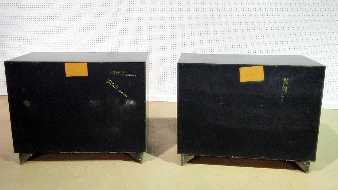 Pair RARE ART DECO CABINETS BY LANE - 6