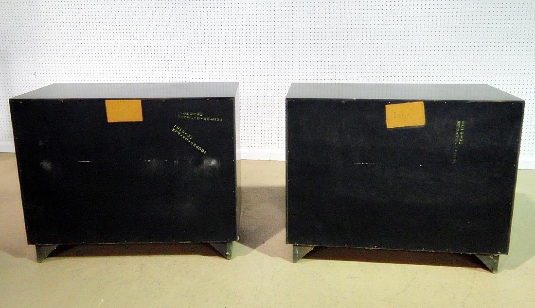 Pair RARE ART DECO CABINETS BY LANE - 7