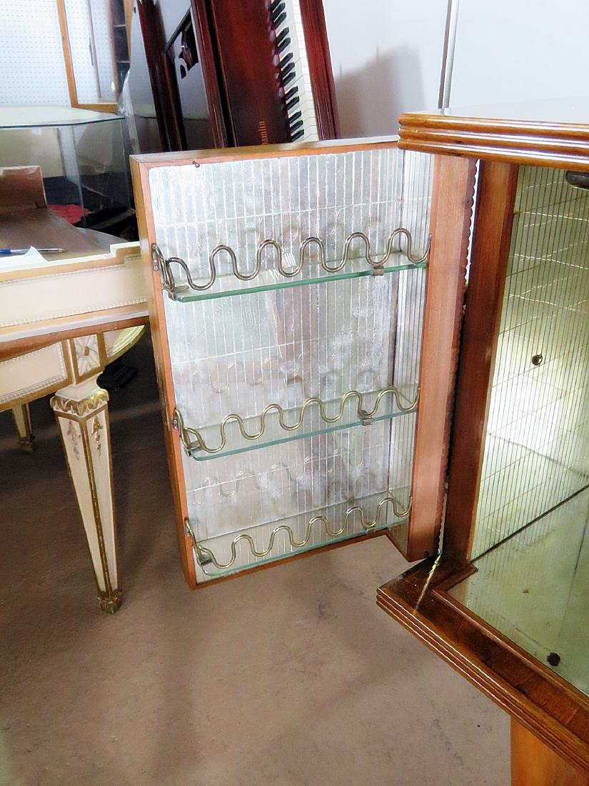 ITALIAN MIRRORED INTERIOR BAR attributed BUFFA - 7