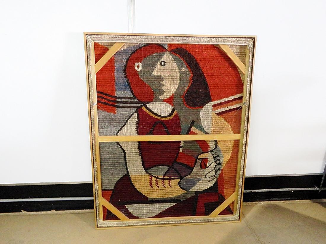 MID CENTURY MODERN TAPESTRY ARTWORK - 8
