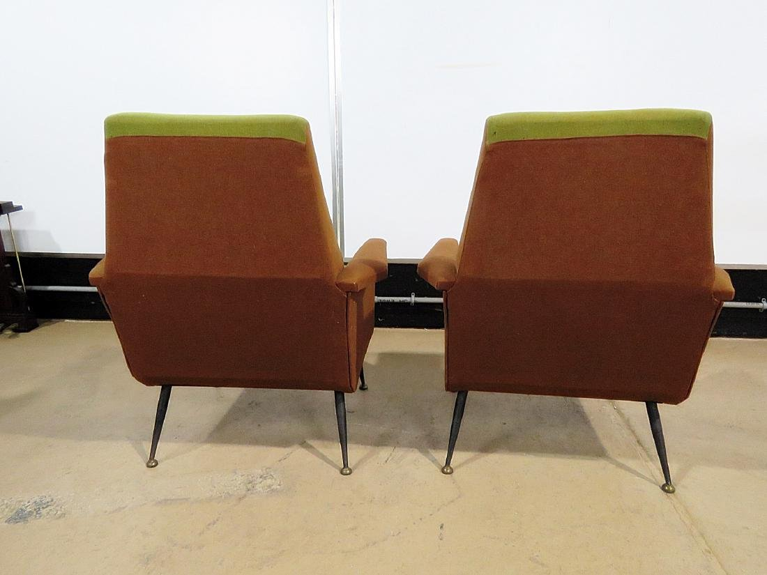 Pair VINTAGE ITALIAN ARM CHAIRS - 4