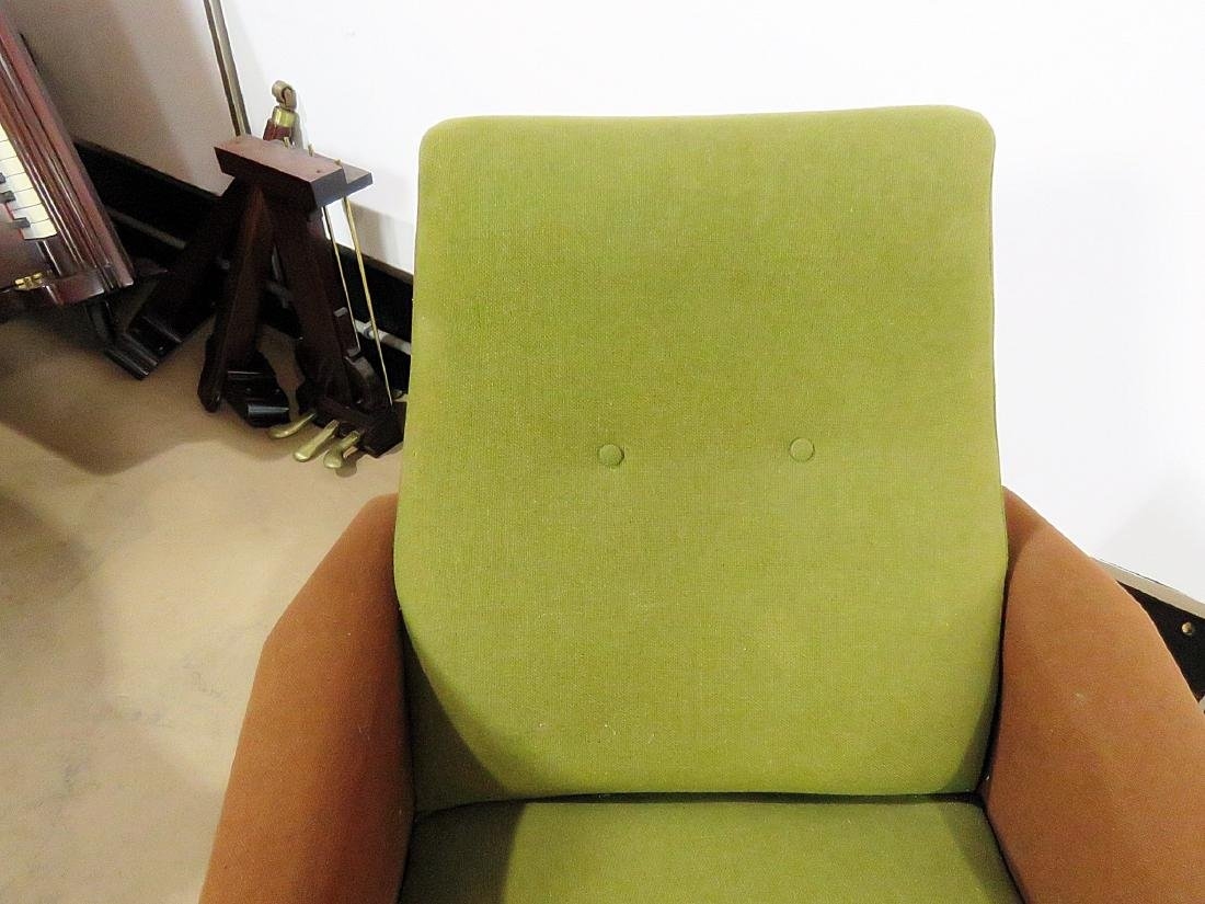 Pair VINTAGE ITALIAN ARM CHAIRS - 7
