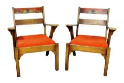 MONTEREY STYLE ARM CHAIRS