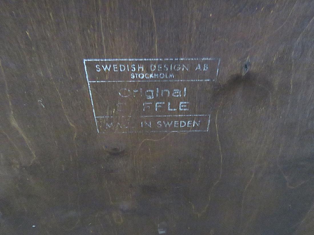 SWEDISH MODERN ROSEWOOD SIDEBOARD - 9