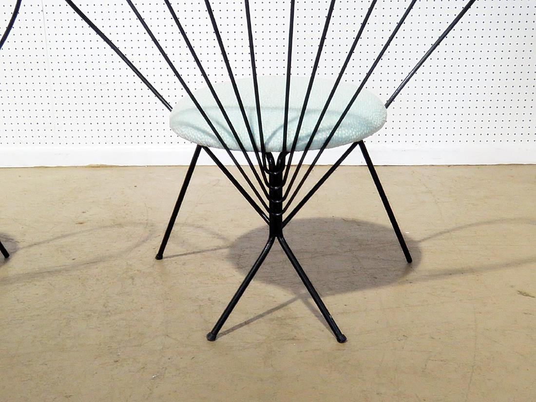 Pair RILEY WOLFE METAL CHAIRS - 6
