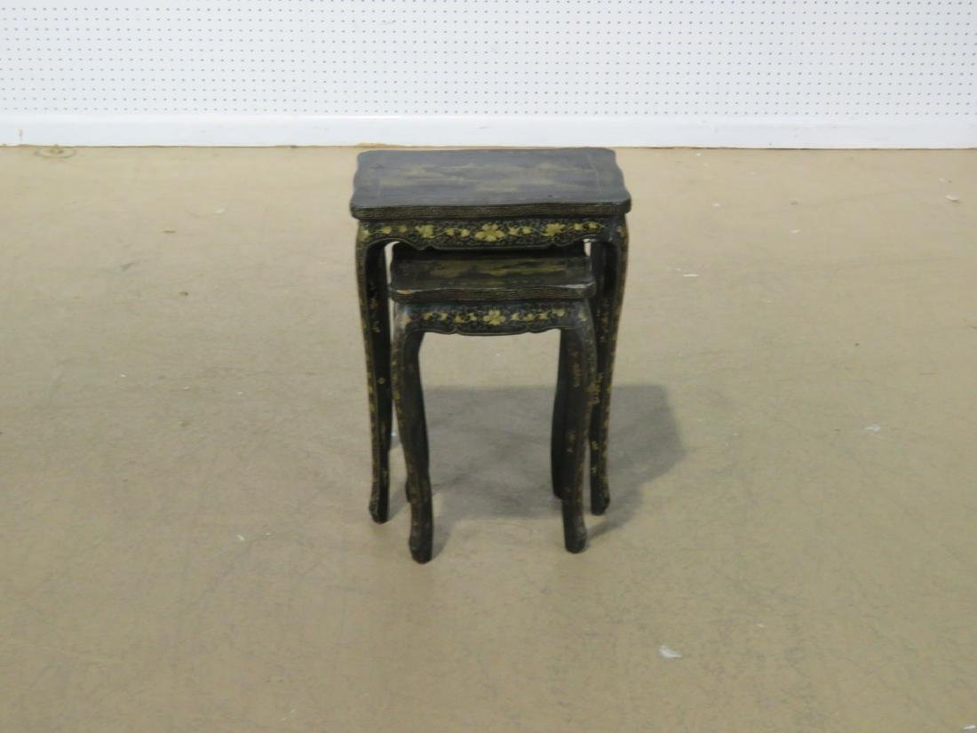 Pair CHINOSIERE NESTING TABLES - 2