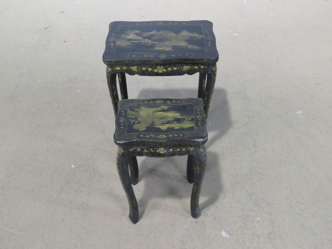 Pair CHINOSIERE NESTING TABLES - 3