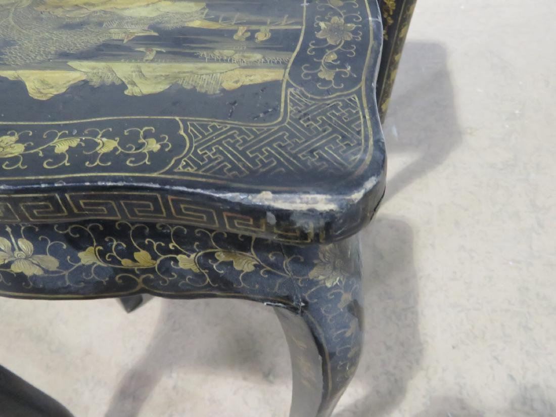 Pair CHINOSIERE NESTING TABLES - 5