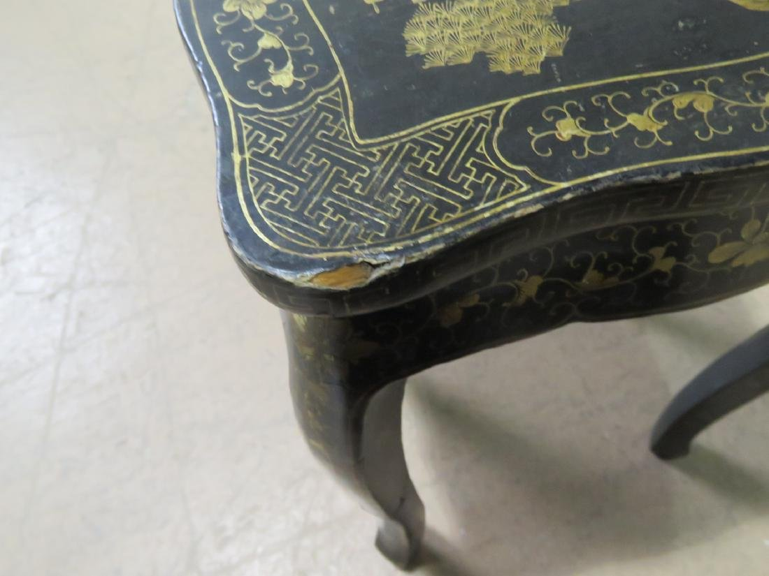 Pair CHINOSIERE NESTING TABLES - 9