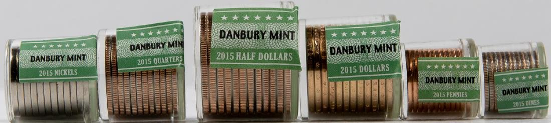 2015 COMPLETE US COIN SET