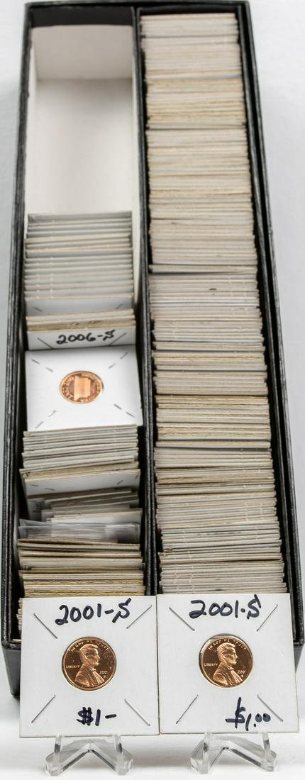 243 - 1969 AND UP LINCOLN MEMORIAL PENNIES 1C