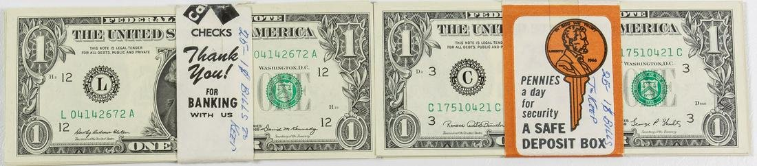 50 - $1 ONE DOLLAR FEDERAL RESERVE NOTES