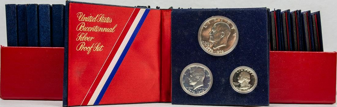 29 - UNITED STATES BICENTENNIAL SILVER PROOF SETS