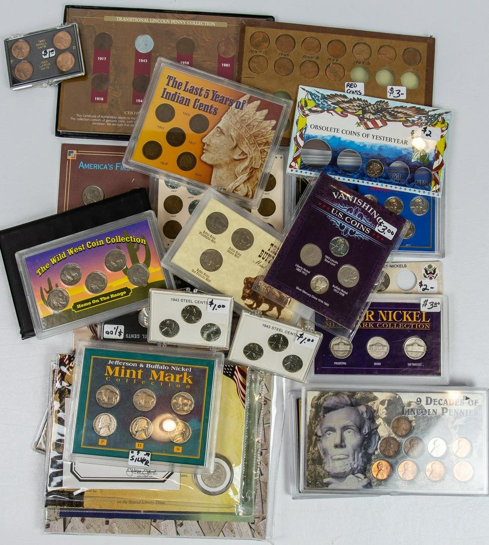 28 ASSORTED COINS