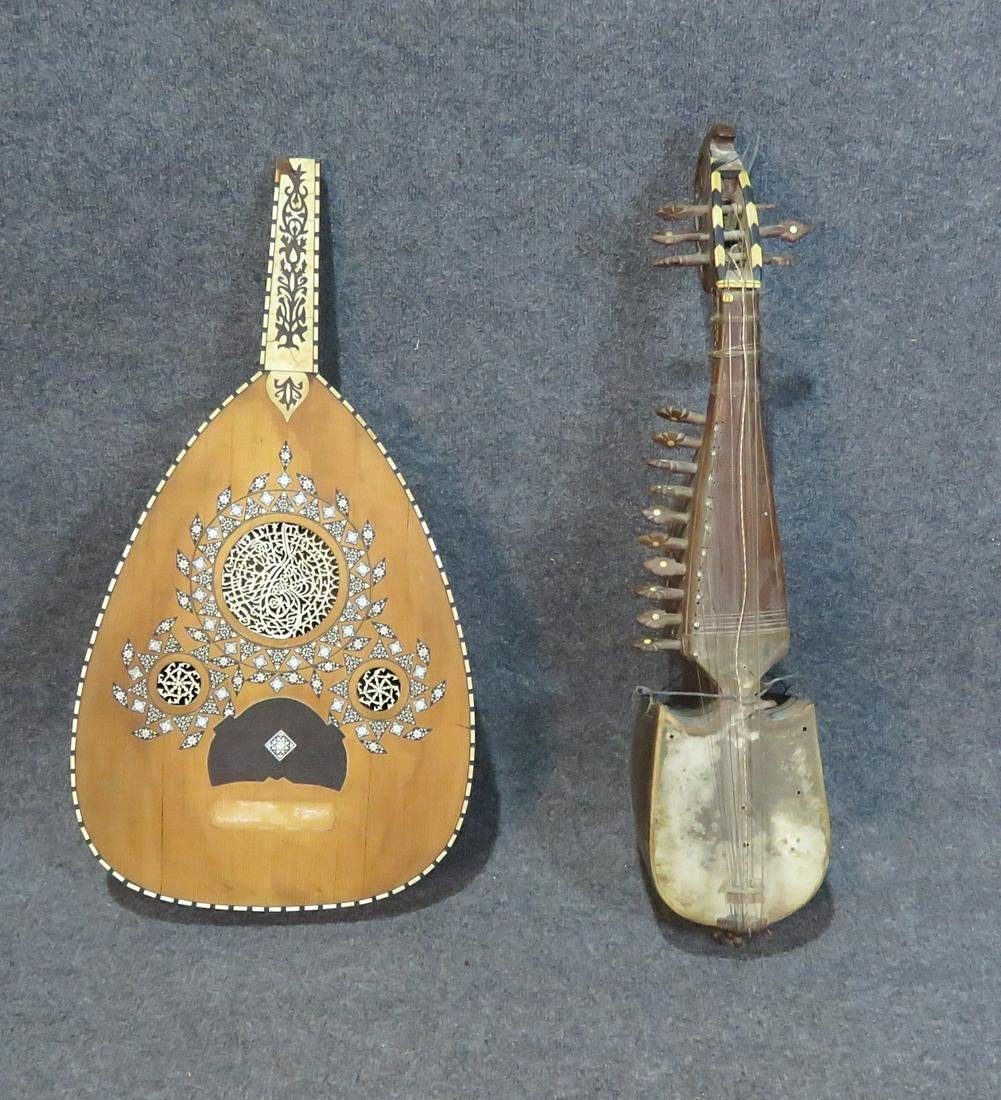 PAIR MUSICAL INSTRUMENTS