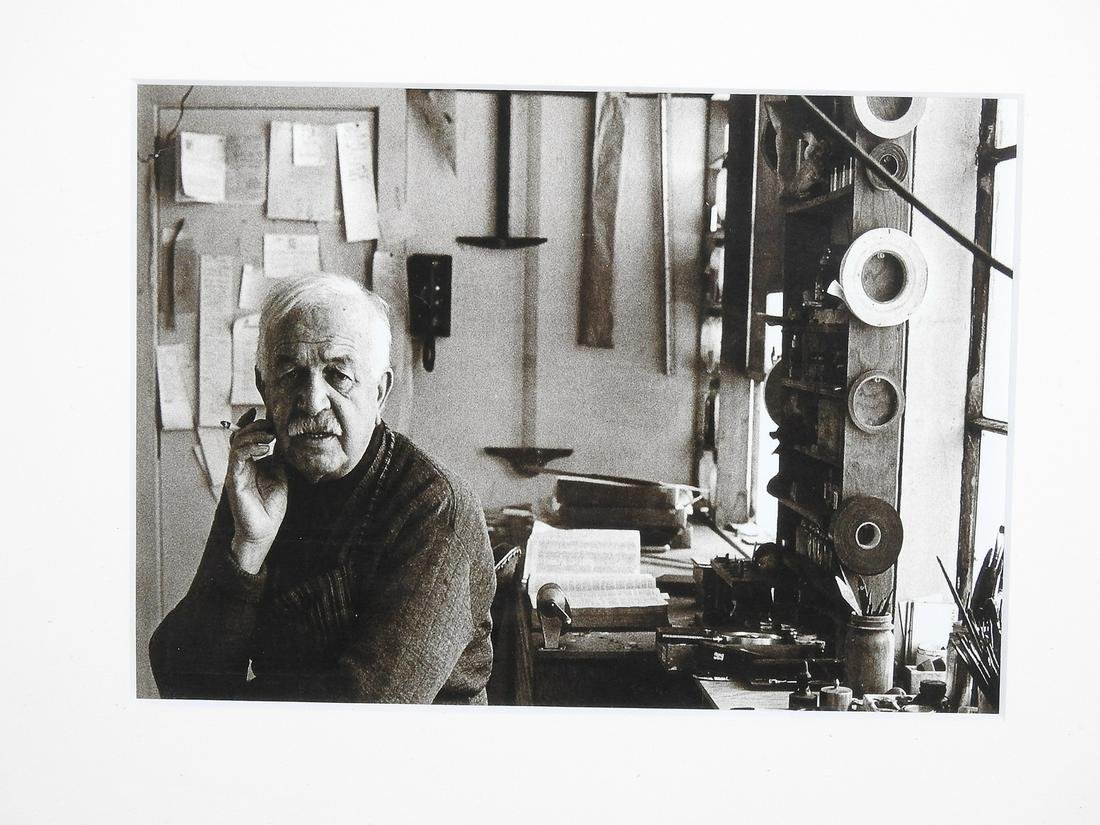 "PHOTOGRAPH OF ARTIST ""BEN SHAHN"""