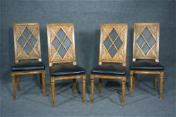 4 TOMMI PARZINGER STYLE CHAIRS
