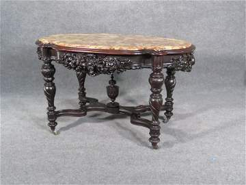 ALEXANDER ROUX VICTORIAN CENTER TABLE