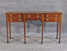 INLAID BANDED TOP SIDEBOARD