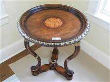 ITALIAN EMPIRE STYLE CENTER TABLE