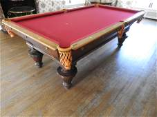 MONARCH THE BRUNSWICK-BALKE BILLIARD TABLE