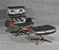 EAMES FOR HERMAN MILLER ROSEWOOD LOUNGE CHAIR & OTTOMAN