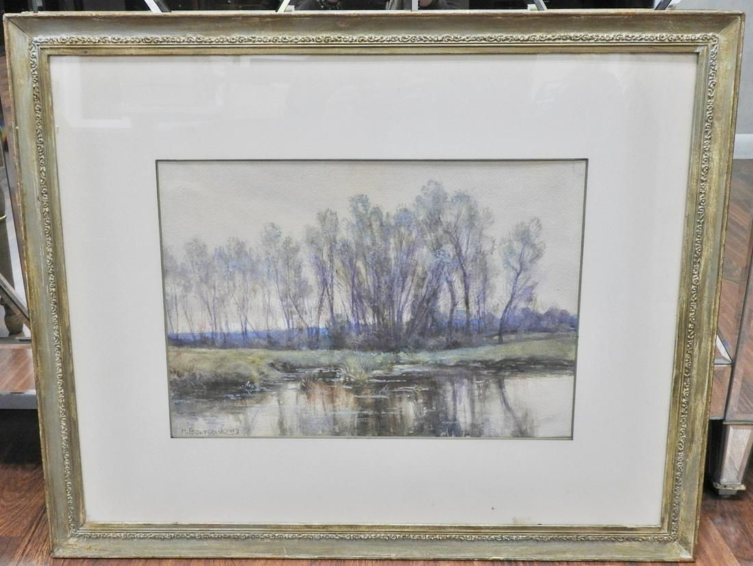 H BOLTON JONES LANDSCAPE WATERCOLOR