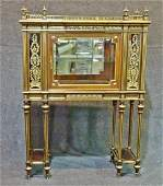 FRENCH ACAJOU & BRONZE MOUNTED DISPLAY CABINET