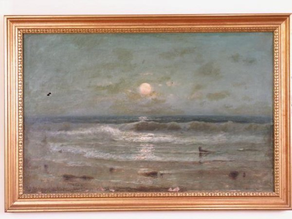 31A: FRANK EASTMAN JONES SEASCAPE PAINTING